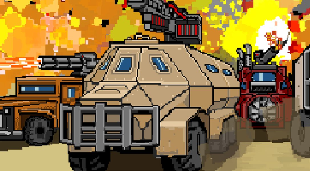 Convoy: A Tactical Roguelike macht am 8. April eine Bruchlandung auf PS4!