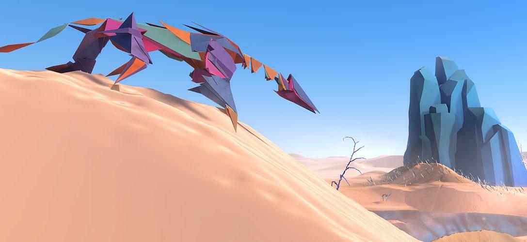 """Wie die faszinierende, fremde Welt des PS VR-Spiels """"Paper Beast"""" entstanden ist"""