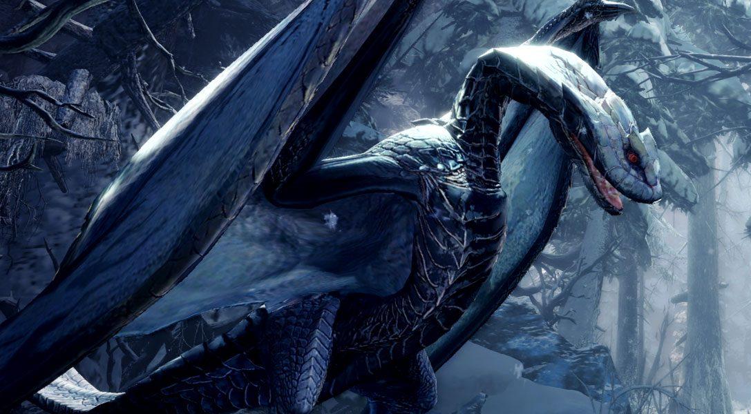 Alatreon breitet seine Flügel aus und macht sich im Mai auf den Weg zu Monster Hunter World: Iceborne