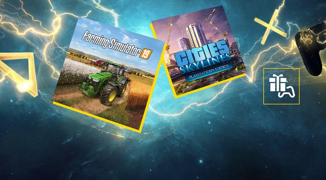 Cities: Skylines und Landwirtschafts-Simulator 19 sind die PlayStation Plus-Spiele im Mai