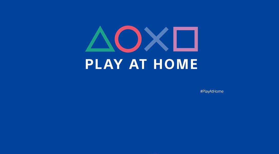 "Ankündigung der Initiative ""Play At Home"""