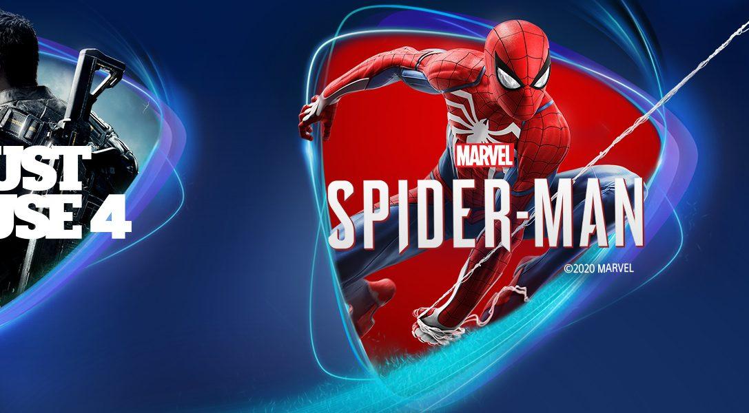 Marvel's Spider-Man, Just Cause 4 und The Golf Club 2019 sind ab April bei PS Now verfügbar