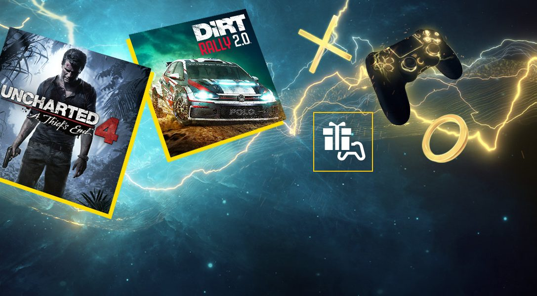Uncharted 4: A Thief's End und DIRT Rally 2.0 sind eure PlayStation Plus-Spiele im April