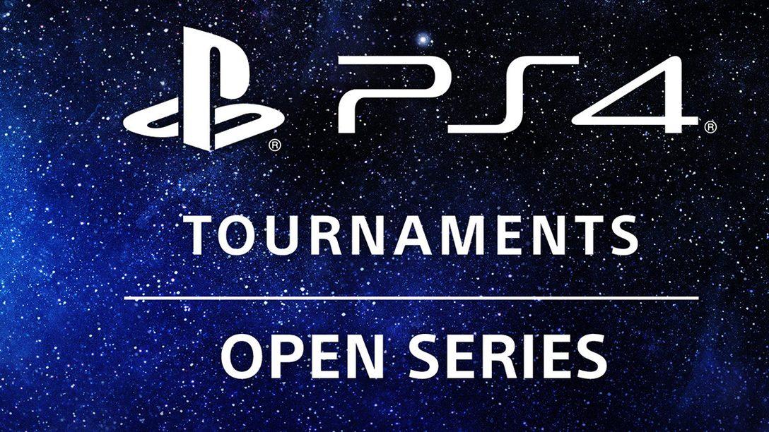 Der Wettbewerb geht weiter, mit PS4 Tournaments: Open Series