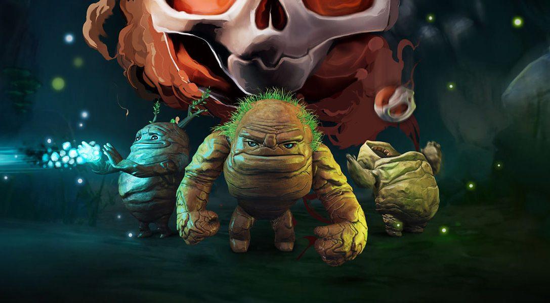 Trefft die Helden des Puzzle-Platformers Skully, das am 04. August auf PS4 rollt