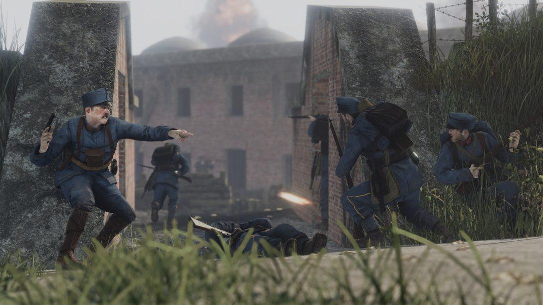 Der Multiplayer-Shooter Tannenberg im ersten Weltkrieg ist auf PS4 verfügbar