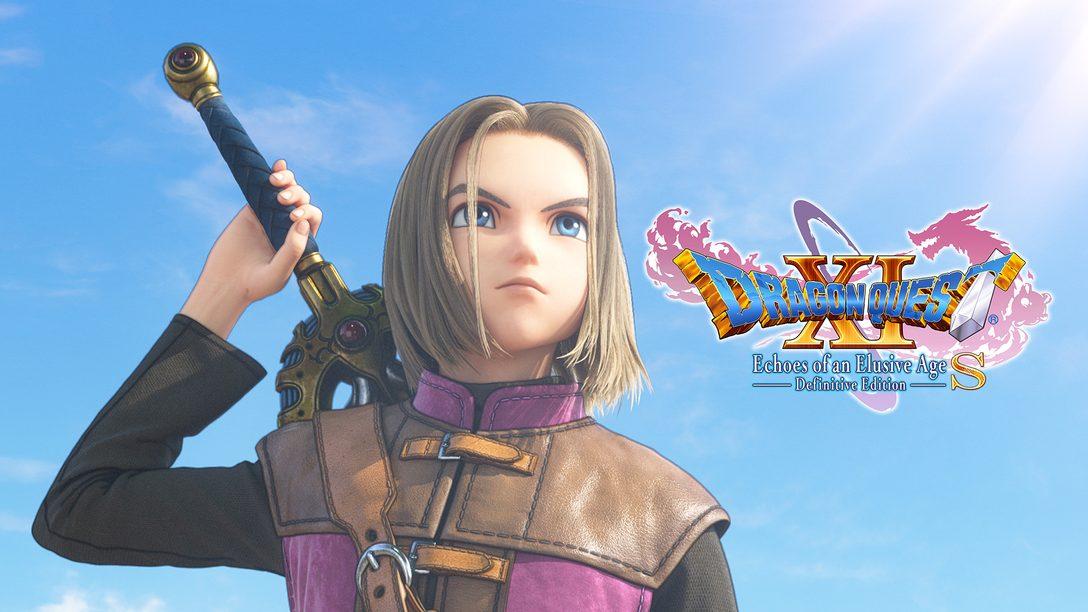 Dragon Quest XI S: Streiter des Schicksals – Definitive Edition für PS4 angekündigt