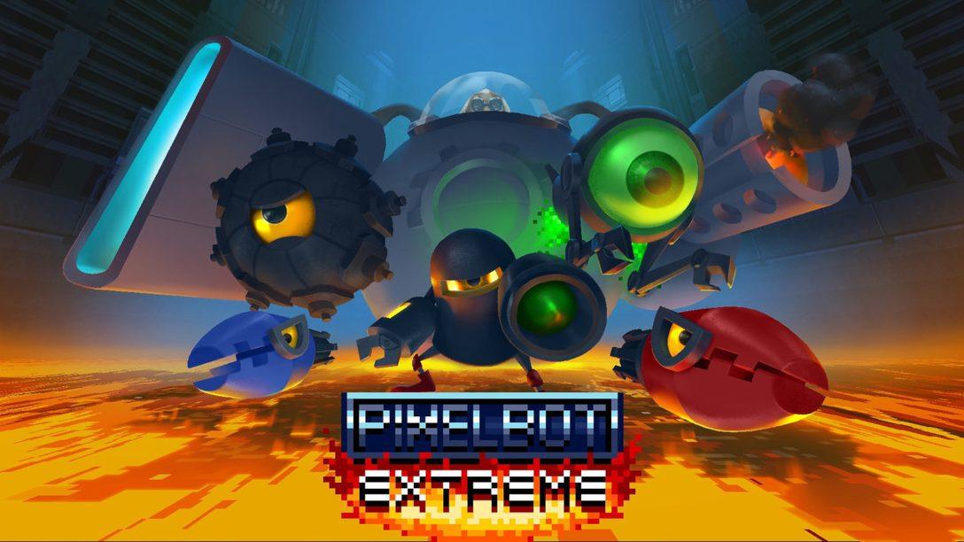 Verschmelzt in PixelBot Extreme! mit dem Controller