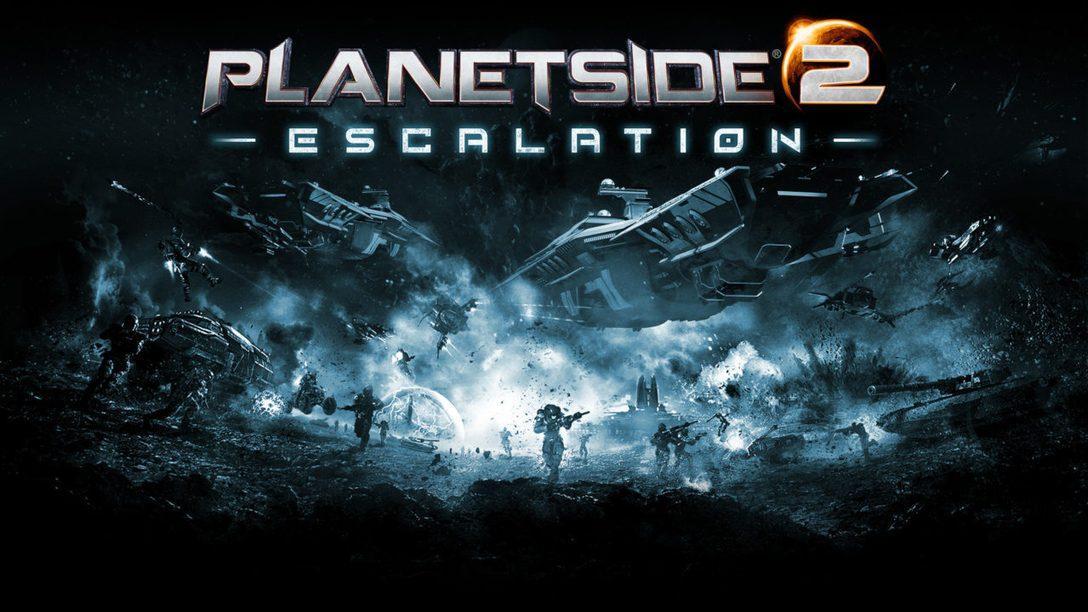 PlanetSide 2: Escalation erscheint diese Woche auf PS4