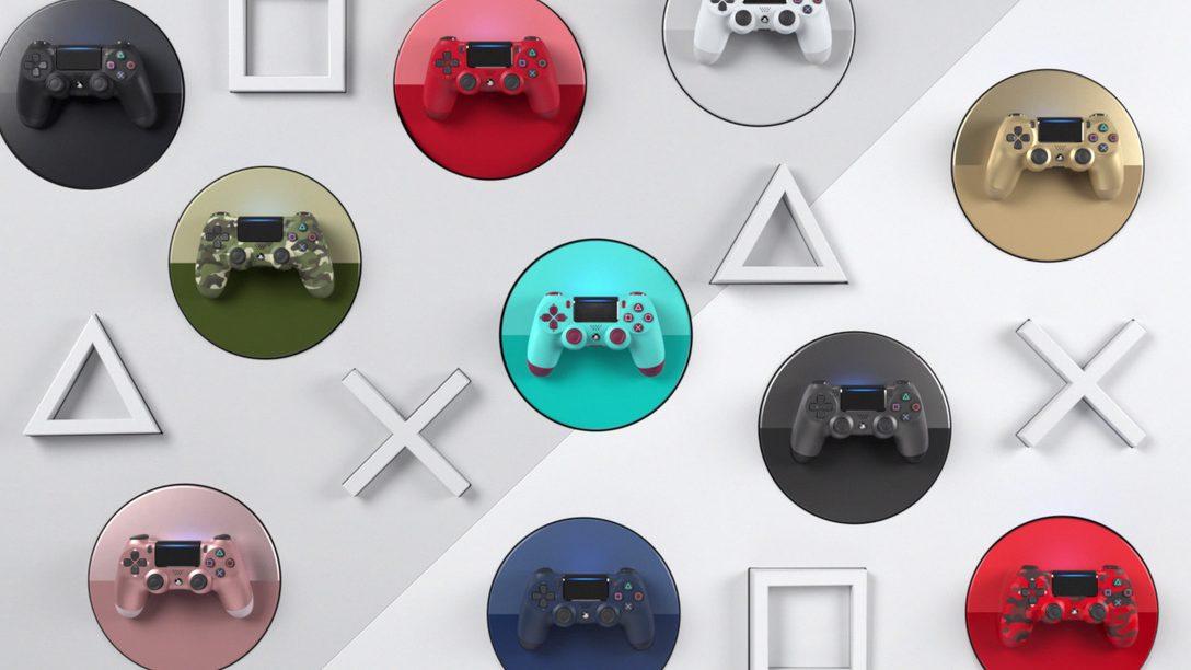 Ausgewählte DUALSHOCK 4-Farben kehren diesen Monat zurück