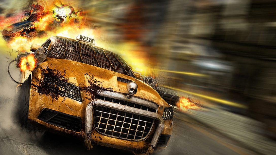 Zombie Driver: Immortal Edition erscheint heute für PS4