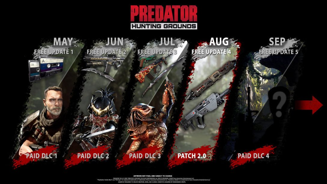Predator: Hunting Grounds August-Update