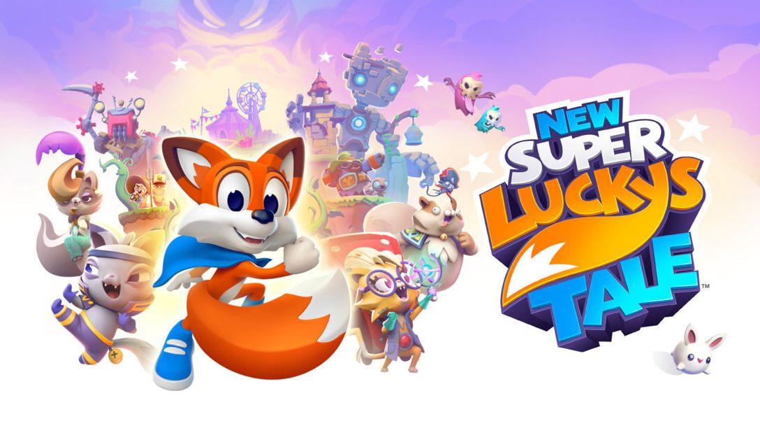 Taucht in das Abenteuer von New Super Lucky's Tale ein