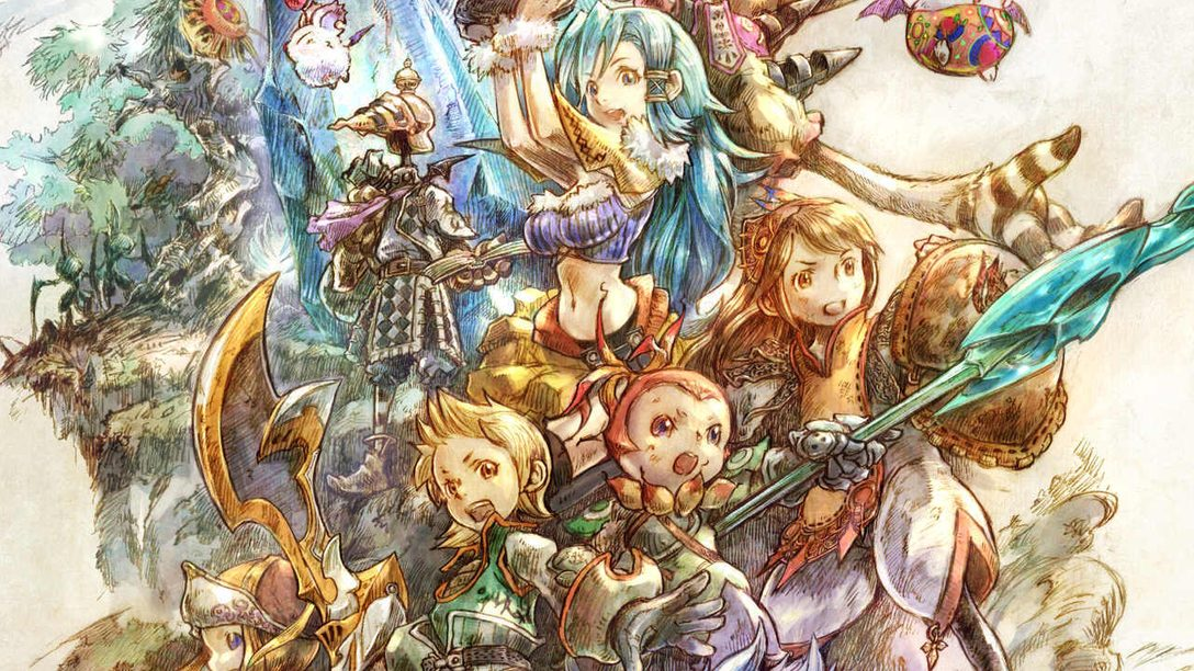 Nehmt an einer Führung zu Final Fantasy Crystal Chronicles Remastered Editions wunderschöner Konzeptkunst teil