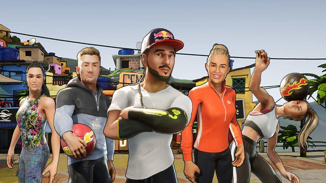 Street Power Football bringt Arcade-Sport morgen zu PS4