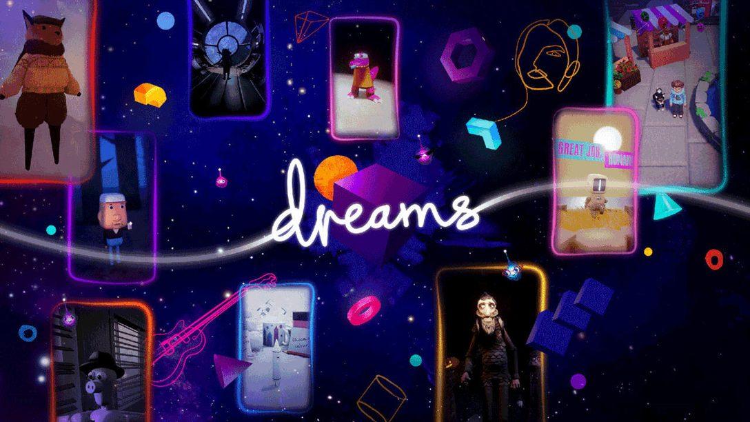 Dreams: Was es gerade für PS VR zu spielen gibt