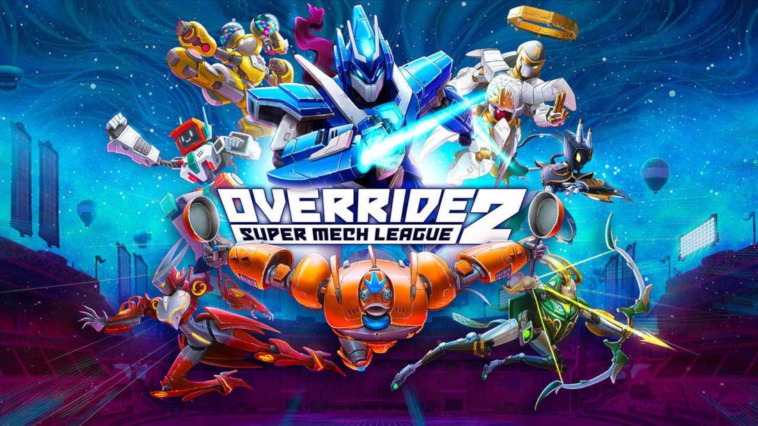 Override 2: Super Mech League für PlayStation 5 und PlayStation 4 angekündigt