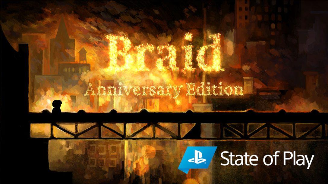 Wir präsentieren die Anniversary Edition von Braid für PS4 und PS5.