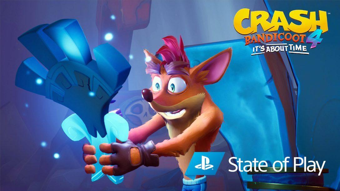 Neuer Modus N. Verted, spielbare Charaktere und noch mehr Veröffentlichungen für Crash Bandicoot 4: It's About Time