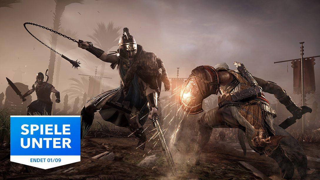"""Die """"Spiele unter""""-Aktion im PlayStation Store ist zurück"""