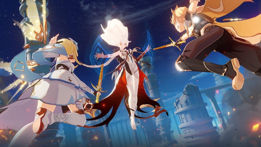 Haltet euch fest: Genshin Impact erscheint für PS4 am 28. September