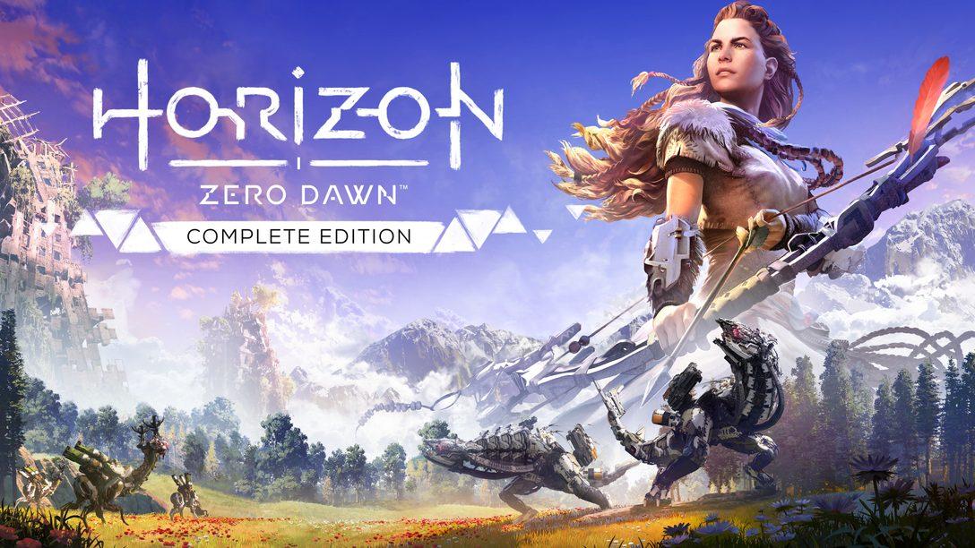 Horizon Zero Dawn Complete Edition erscheint heute auf PC
