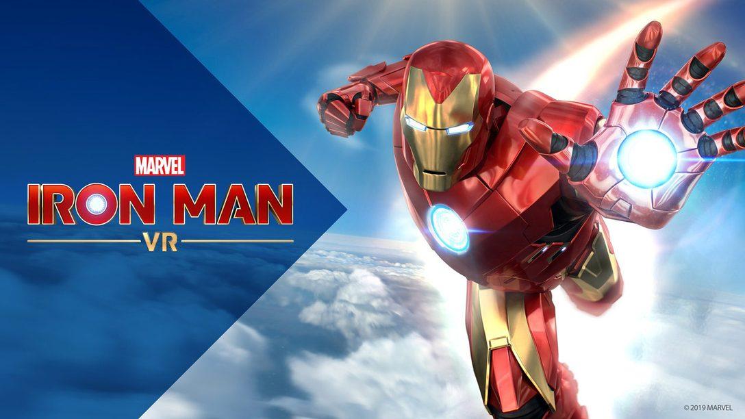 """Kostenloser Update-Patch für Marvel's Iron Man VR inklusive """"Neues Spiel+"""" ab heute verfügbar"""
