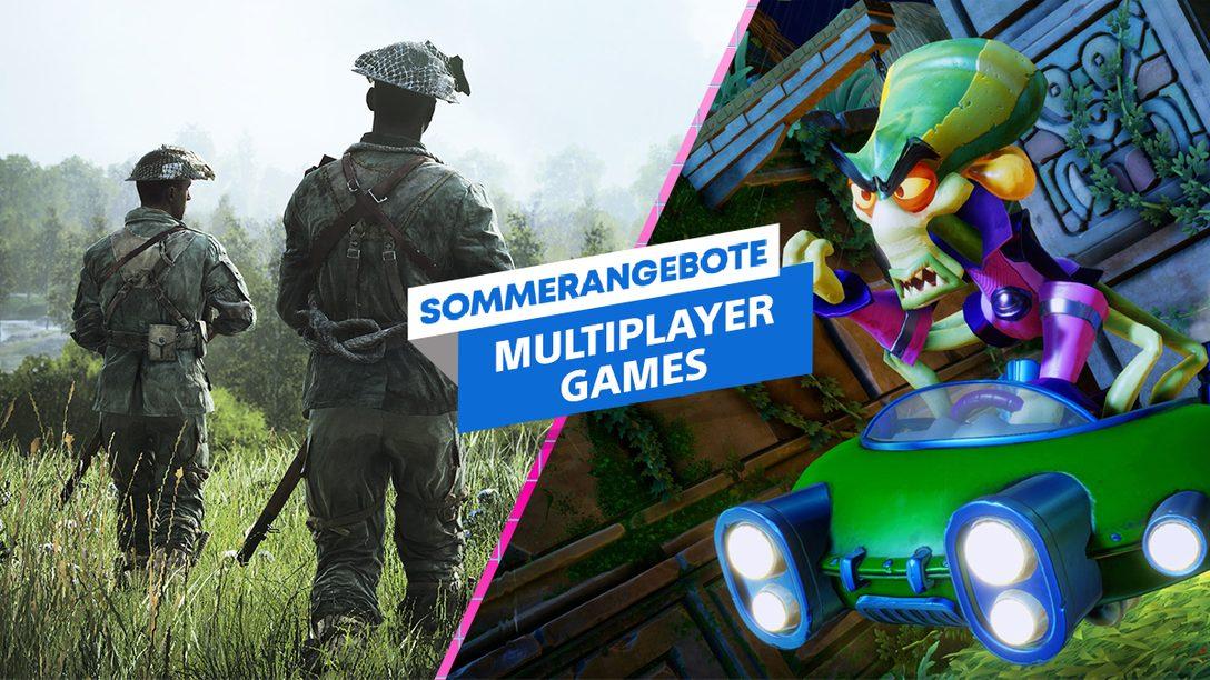 Sommerangebote 2020: Habt ihr Lust auf Couch-Koop und Online-Multiplayer?