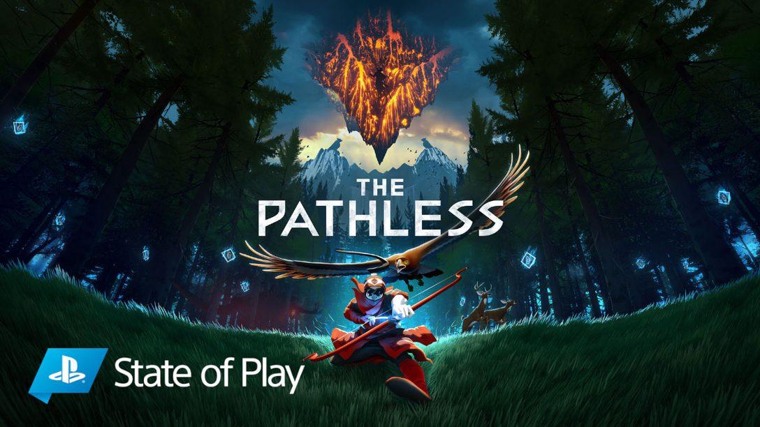 The Pathless: Einzelheiten zum Gameplay dieses unkonventionellen Open-World-Abenteuers.