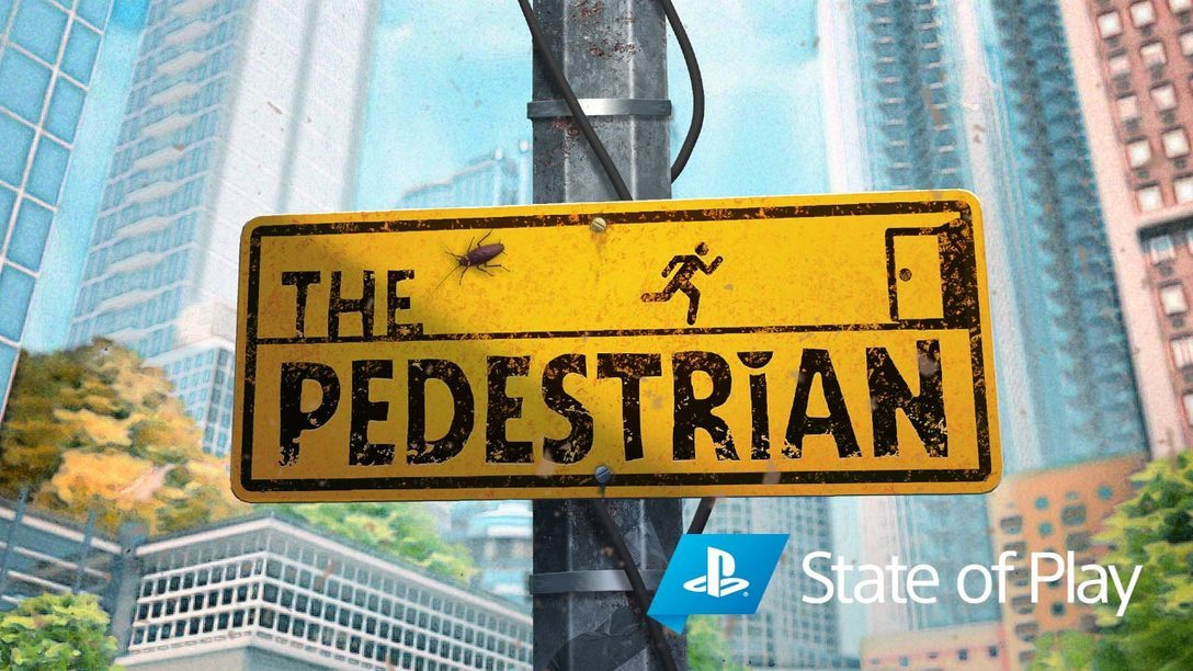 Alle Schilder deuten auf The Pedestrian, erhältlich ab Januar 2021
