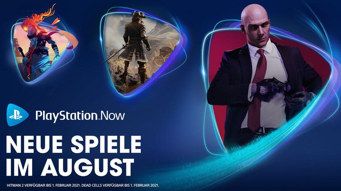 Hitman 2, Greedfall und Dead Cells ab August auf PS Now
