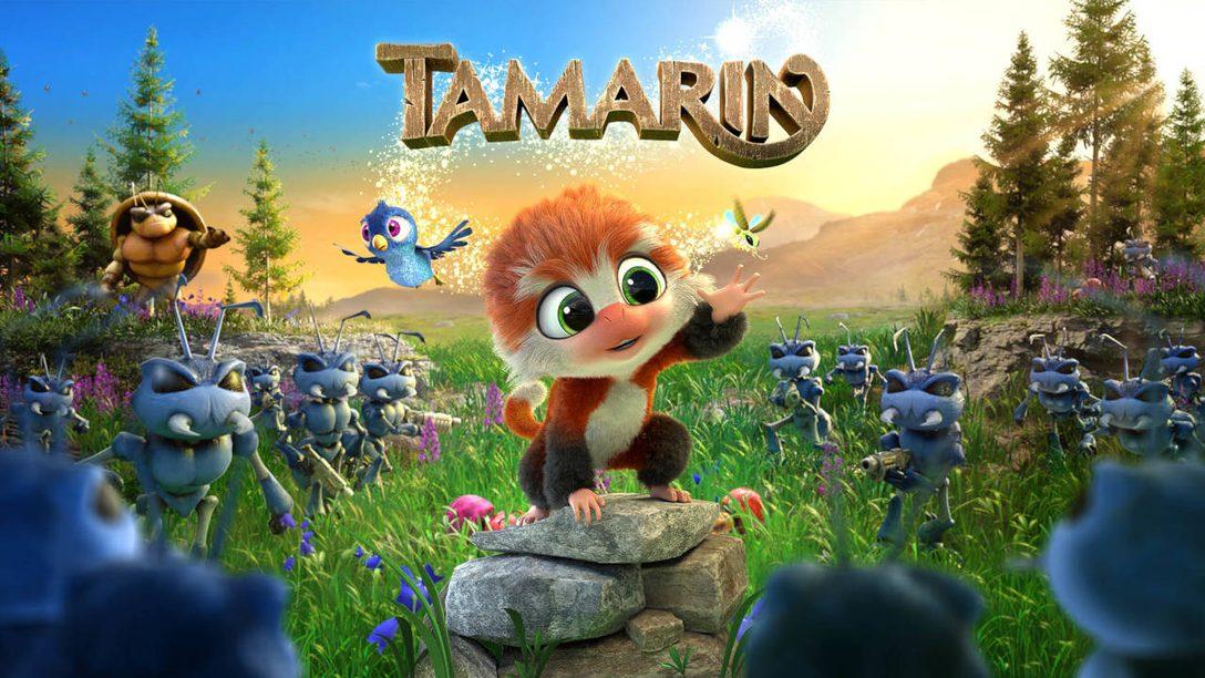 Springt in die 3D-Plattform-Welt von Tamarin, die heute auf PS4 erscheint