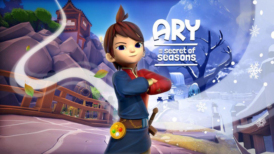 Nutzt die Macht von Frühling, Sommer, Herbst und Winter in Ary and the Secret of Seasons