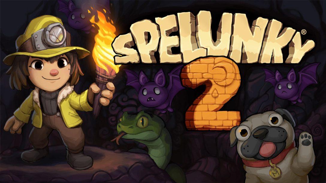 Spelunky 2 ist ab jetzt auf PS4 verfügbar