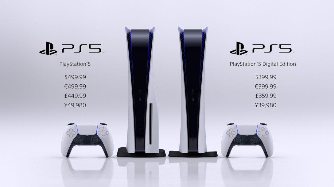 PlayStation 5 Release im November: PS5-Digital Edition und PS5 mit Ultra HD Blu-ray Laufwerk