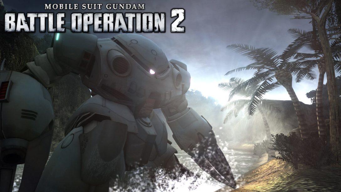 Neuer Unterwasserkampf in Mobile Suit Gundam: Battle Operation 2