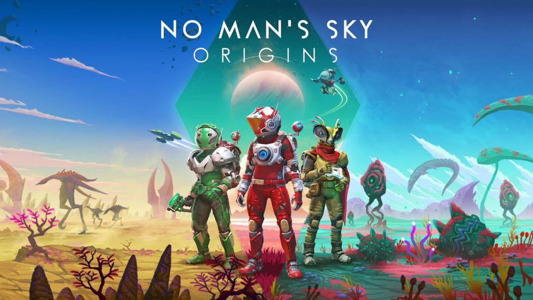 """""""Origins"""" ist da – das neueste Update für No Man's Sky"""