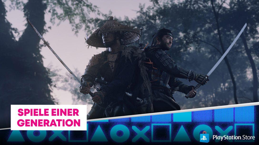 Die PS Store-Aktion Spiele einer Generation ist jetzt live
