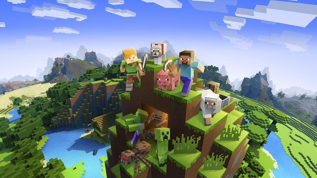 Minecraft ab diesem Monat mit PS VR-Unterstützung