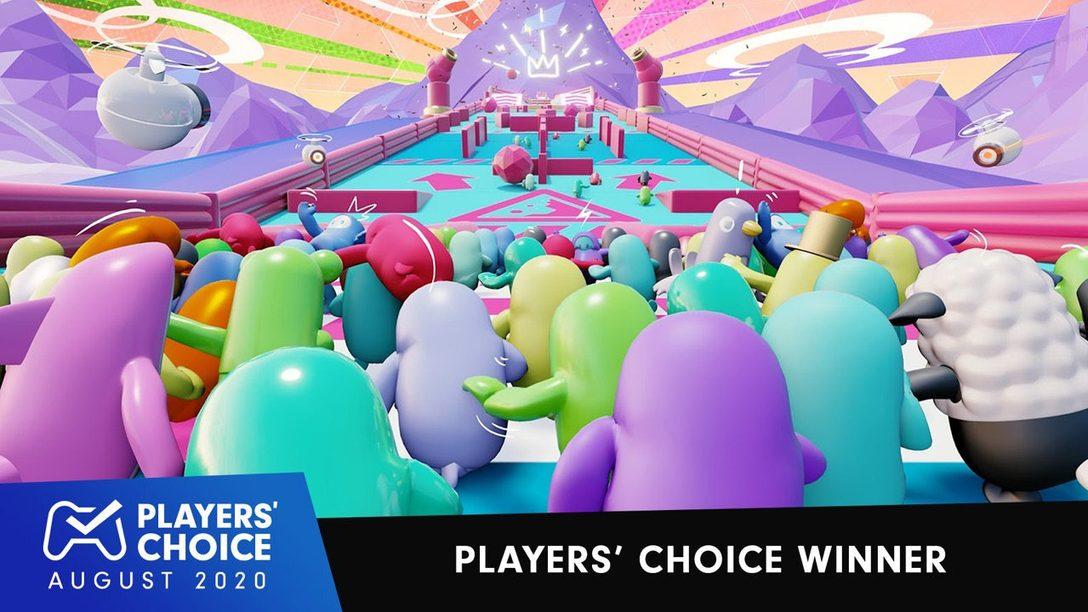 Players' Choice: Fall Guys ist das beste neue Spiel im August