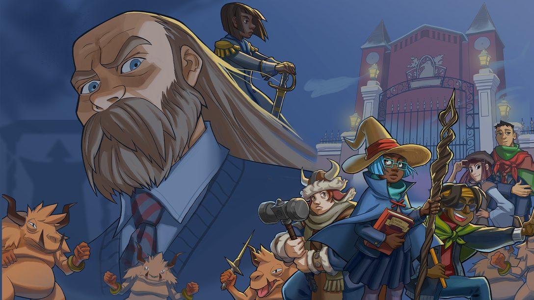 Ein Blick auf die wohlige RPG-Welt von Wintermoor Tactics Club
