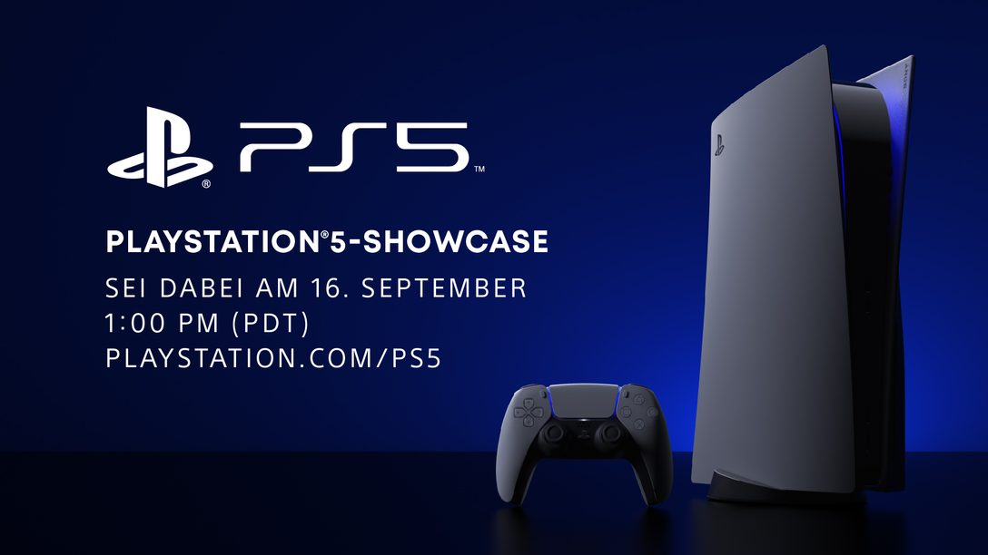 Live-Stream: PlayStation 5-Showcase Mittwoch, 16. September