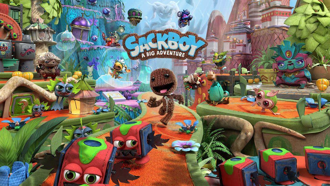 Macht euch bereit für ein episches 3D Plattformabenteuer in Sackboy: A Big Adventure