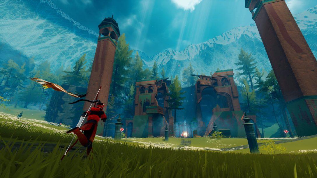 Die gewaltige und mysteriöse Welt von The Pathless erwartet euch am 12. November auf PlayStation 5