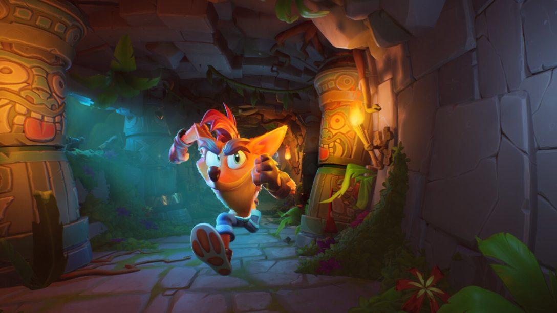 Crash Bandicoot 4: It's About Time wirbelt am 2. Oktober auf PS4