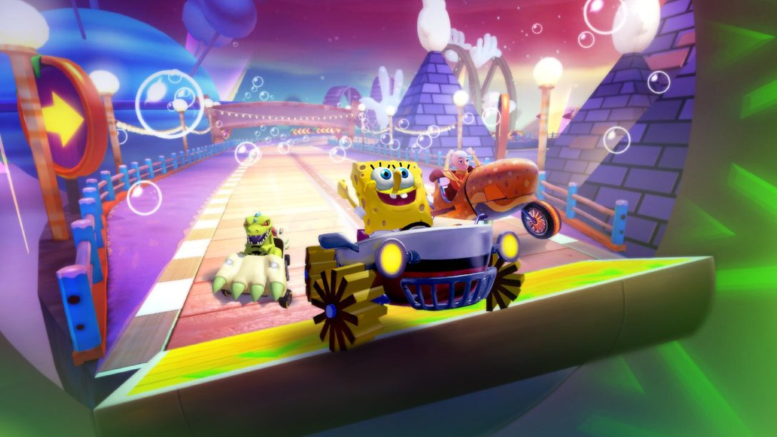 Nickelodeon Kart Racers 2 bekommt mehr Optionen, Charaktere und Slime!