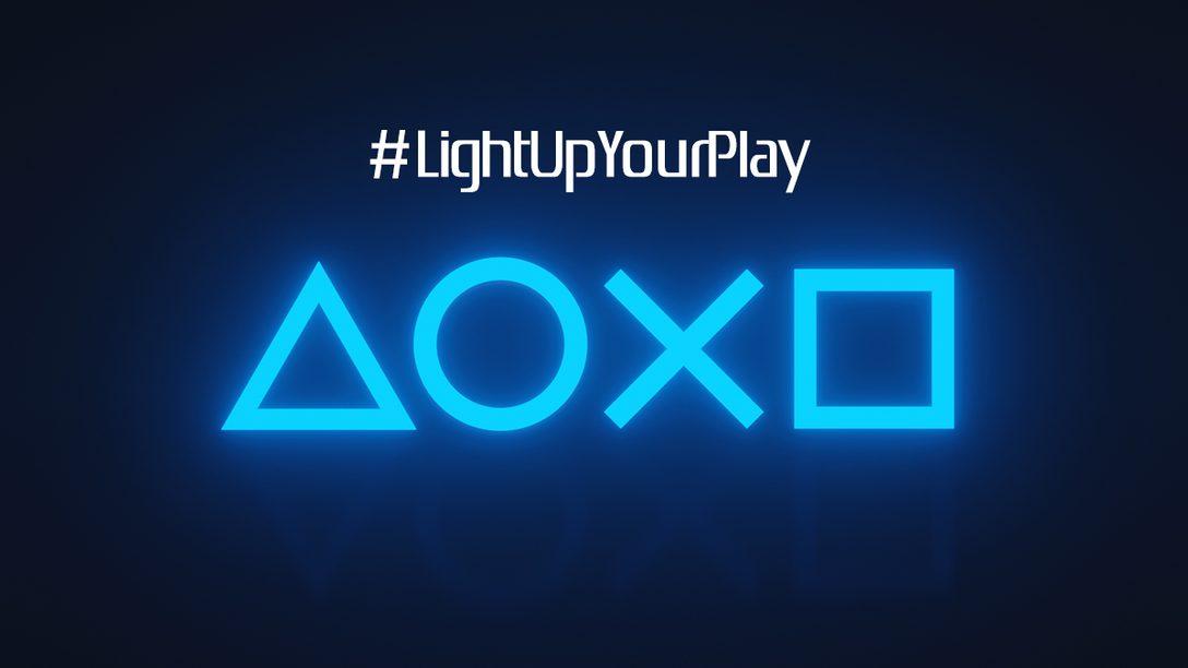 #LightUpYourPlay – Gebt eurem Gaming-Zimmer den unverkennbaren PlayStation-Look
