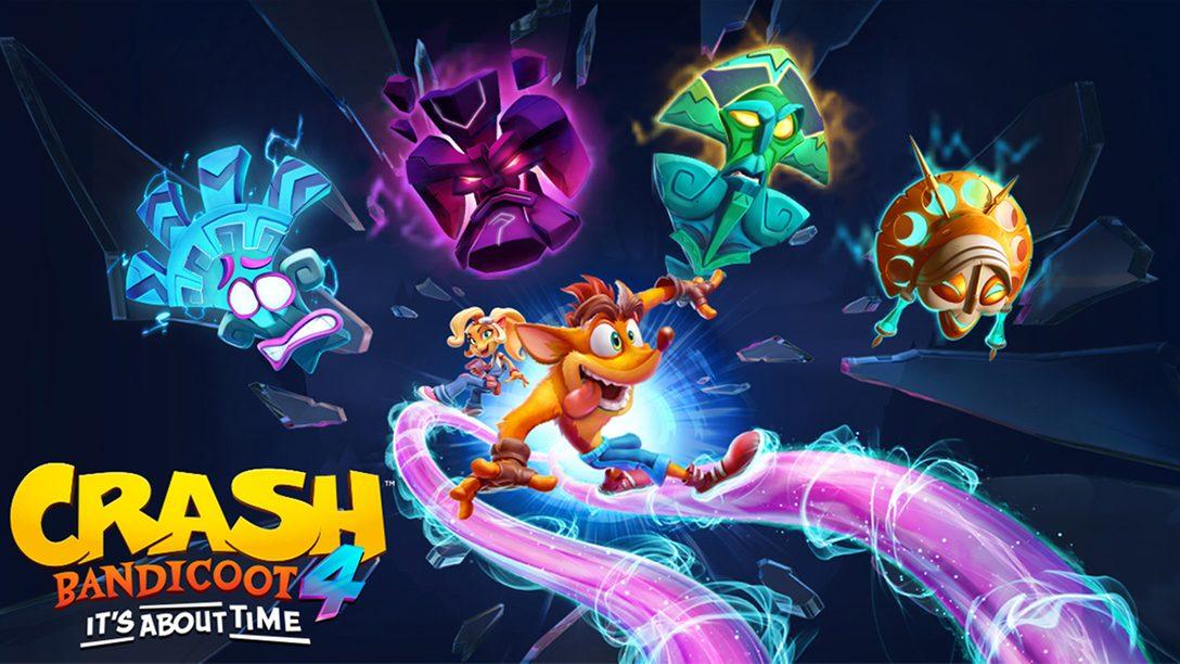Crash Bandicoot 4 – It´s About Time startet einen Maskenball – Seid dabei!