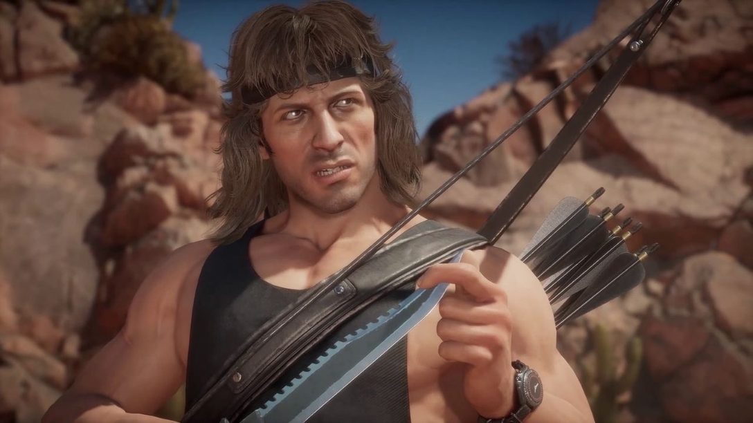 Mortal Kombat 11 Ultimate – Gameplay-Enthüllung zu Rambo