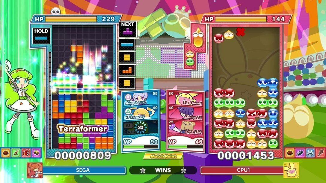 Taucht mit dem Talentkampf-Modus tief ein in Puyo Puyo Tetris 2